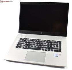 The HP EliteBook 1050 G1 with a new high-quality metal chassis