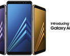 Samsung Galaxy A8 (2018) and A8+ (2018) (Source: Samsung)