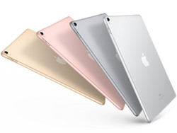 The Apple iPad 10.5 is available in Silver, Gold, Rose Gold, and Space Gray.