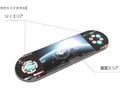 Sharp's alleged schematic for a foldable gaming console. (Source: LetsGoDigital)