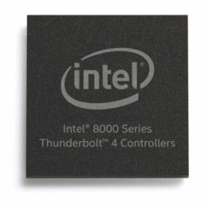 Intel 8000 series Thunderbolt 4 controller. (Source: Intel)
