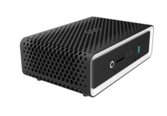 The Zotac ZBOX CI660 nano with honeycomb-style passive cooling. (Source: Zotac)