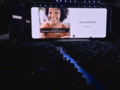 Live Caption is showcased at Galaxy Unpacked 2020. (Source: YouTube)