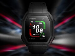 Huami is going to launch the Amazfit Ares rugged smartwatch on May 19. (Image source: Huami/Weibo)