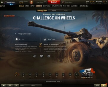 World of Tanks 1.4 - Challenge on Wheels final stage details