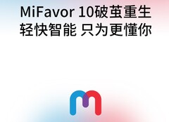 ZTE's next major Android upgrade is called MiFavor 10. (Source: Weibo)