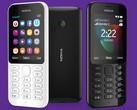 Microsoft Nokia 222 feature phone with Internet connectivity