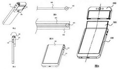Oppo foldable phone patent (Source: Phandroid)