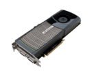 Nvidia GeForce GTX 480, flagship Fermi launch card. (Source: Nvidia)