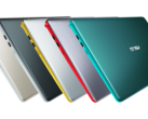 The Asus VivoBook S15 and S14 come in five different color options. (Source: Asus)