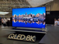 An 8K TV at a tech conference. (Source: WhistleOut)