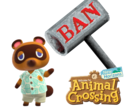 Animal Crossing: New Horizons has been banned in China. (Image via Nintendo w/ edits)