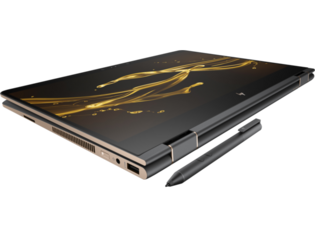 The HP Spectre X360 13-inch features Intel HD Graphics 620. (Source: HP)