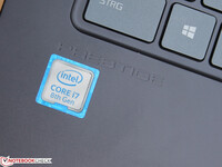 The Intel Core i7-8565U processor powers our test unit
