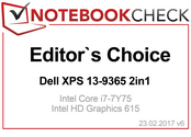Editor's Choice in February 2017: XPS 13 9365 2-in-1