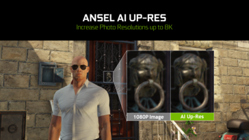 Ansel can upscale a 1X shot up to 8K using AI. (Source: NVIDIA)