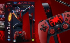 Terrific fan-made PS5 retail box concept design featuring Miles Morales. (Image source: Vinícius de Jesus/Behance)
