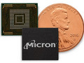 'Ultra small' 3D NAND produced by Micron for mobile use. (Source: Micron)