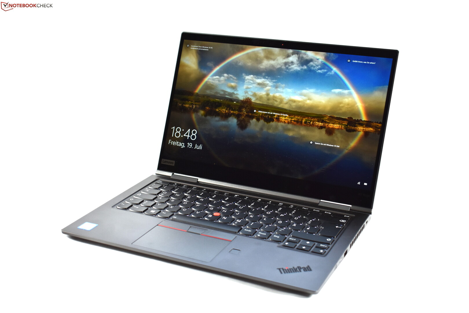 Lenovo ThinkPad X1 Yoga 2019 Laptop Review: Aluminum Unibody