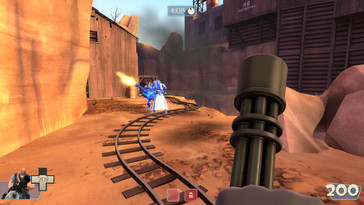 "The classic ""Team Fortress 2""..."
