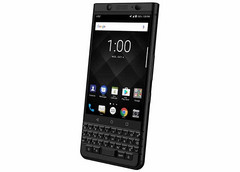 The new Space Black variant of the KEYone gives off a more serious, business-like aura. (Source: AT&T)