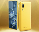 A leaked image shows the Sharp Aquos S2 in gold.