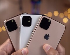 The triple-cam setup on the back appears to be the only design change on the new iPhone 11 models. (Source: AppleSfera)