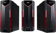 The Acer Nitro N50-100 features an AMD Ryzen 5 2500X CPU. (Source: HotHardware)