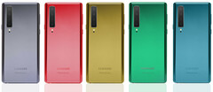 The Samsung Galaxy Note 10 should come in an assortment of color options. (Image source: PhoneArena)
