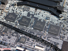 MSI solders the 16 GB of dual-channel RAM to the motherboard