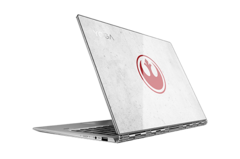 The Rebel Alliance insignia is protected with a sheet of Gorilla Glass. (Source: Lenovo)