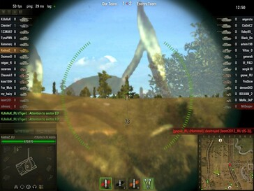 World of Tanks 0.7.0 - Pz V-VI Alpha sniping