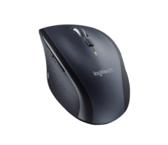 The sculpted design only fits right-handed persons. (Source: Logitech)