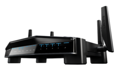 The Linksys WRT32X has an agressive design. (Source: Linksys)