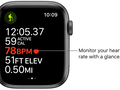 Newer Apple Watches can monitor your heart rate. (Source: Apple)
