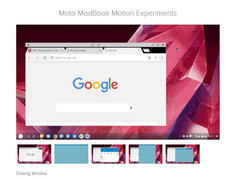 Motorola's Android-based desktop UI. (Source: Evan Blass)