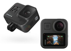 The GoPro Hero 8 and GoPro Max (Image source: WinFuture)