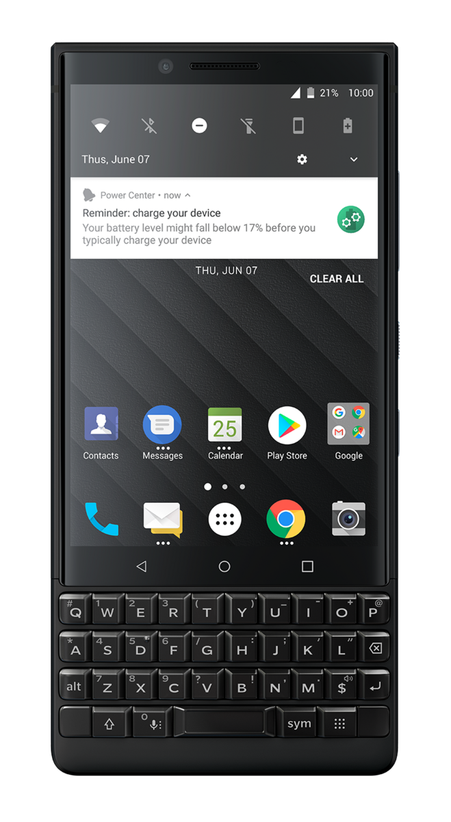 BlackBerry KEY2 Smartphone Review - NotebookCheck net Reviews
