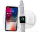 Apple's AirPower Qi-enabled wireless charging mat was publicly announced then, embarrinsly, publicly cancelled. (Source: Apple)