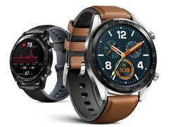 The successor to the Watch GT 2, pictured, will likely arrive within the next two months. (Image source: Huawei)
