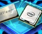 Both AMD and Intel are offering strong mobile processors for laptop OEMs. (Image source: HardZone)