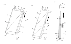 Samsung rollable patent shows what the Sony rollable smartphone might look like. (Source: Letsgodigital)