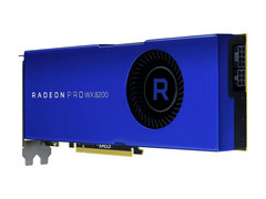 The Radeon Pro WX 8200 is almost as powerful as the high-end WX 9100, but the price is more than halved. (Source: Newegg)
