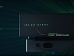 Close up of part of the limited edition Project Scorpio console. (Source: Microsoft)