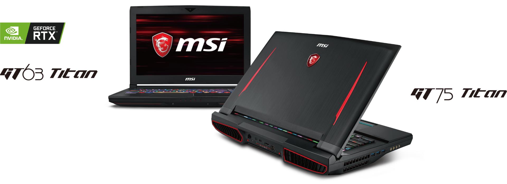 MSI raises its gaming laptops to a new level with NVIDIA GeForce RTX
