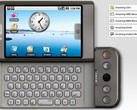 HTC Dream aka T-Mobile G1 - the first Android smartphone announced on September 23, 2008