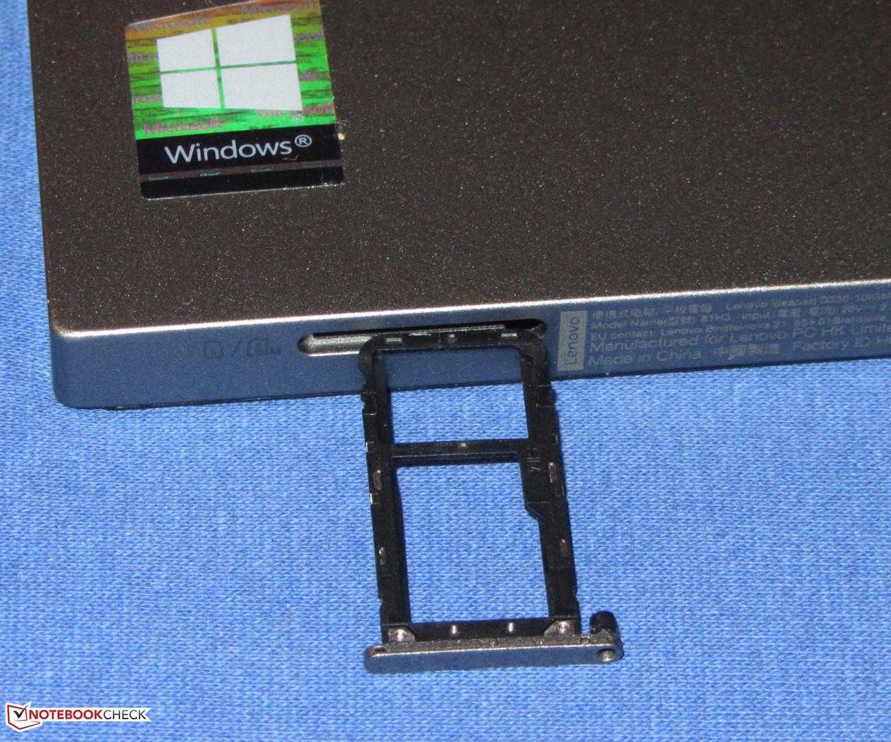 Lenovo IdeaPad D330-10IGM (Pentium Silver N5000, eMMC, LTE