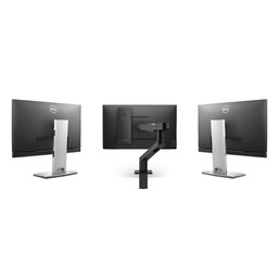 Dell OptiPlex 3090 Ultra can be fitted even on third-party monitors- Left. (Image Source: Dell)