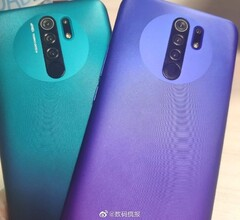 Here's our first look at the Redmi 9 (image via Weibo)