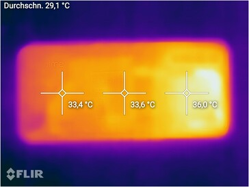 Thermal imaging - bottom